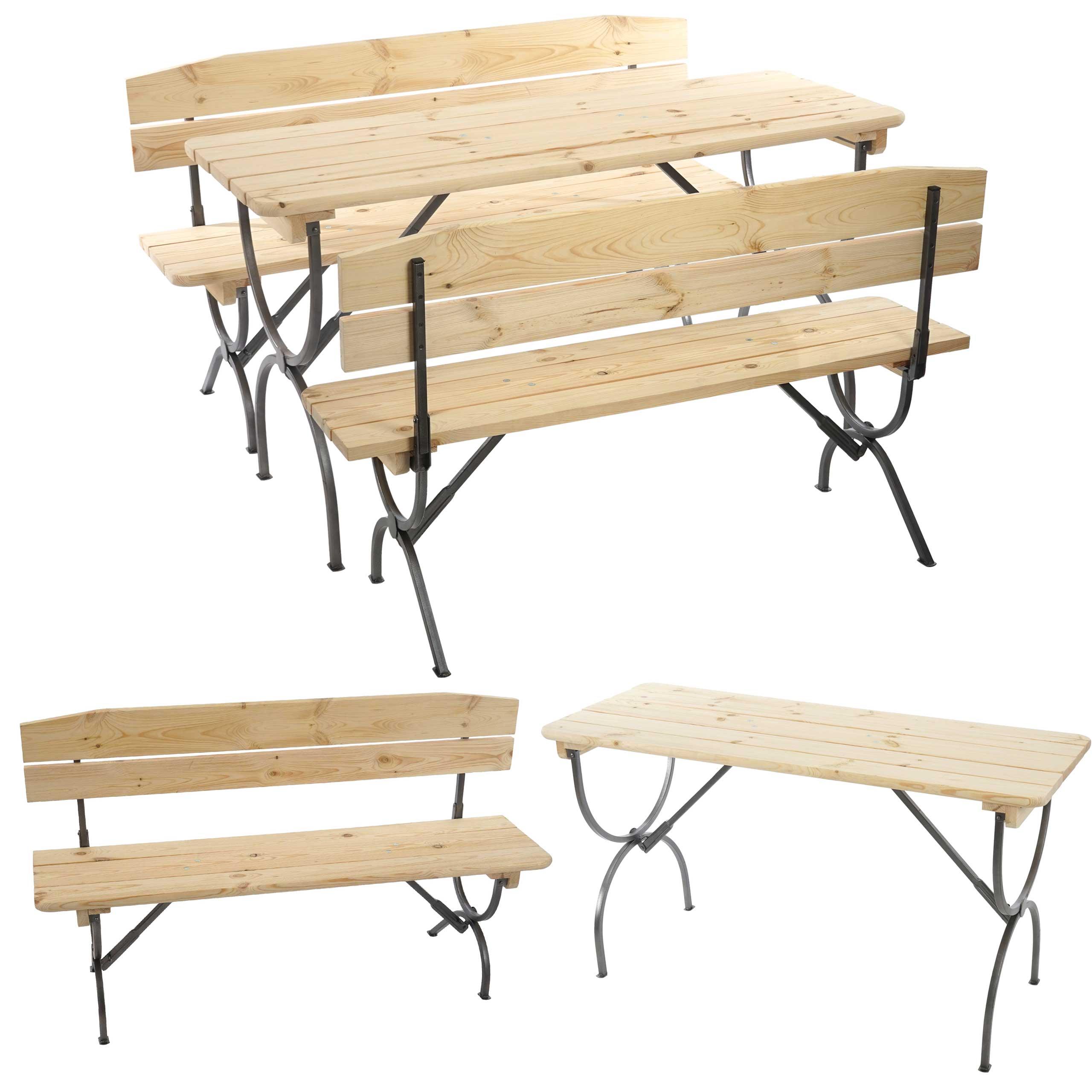 Set 2x panche linz ideale per le feste in giardino for Arredo terrazza giardino offerte