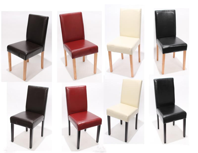 Set 2x sedie littau tessuto per sala da pranzo 43x56x90cm grigio piedi scuri ebay - Sedie per sala pranzo ...